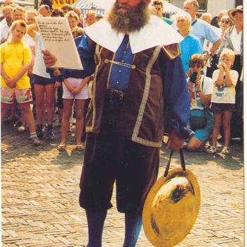 Personen; H.J. v.d. Zandschulp, dorpsomroeper