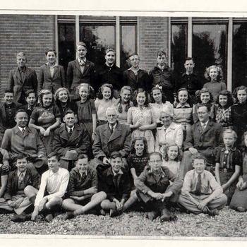 Openbare MULO aan de Markt  - Klas 2 schooljaar 1946-1947