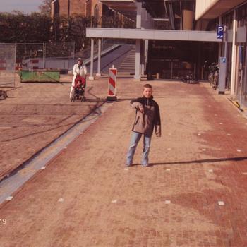 Ede, inrichting van het plein bij het Gemeentehuis