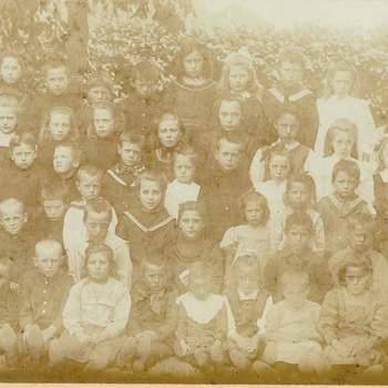 Klassefoto van de Paasbergschool