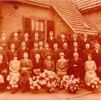 Gasfabriek - Jubileum H. Noorman - groepsfoto