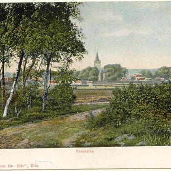 Panorama vanaf de Paasberg
