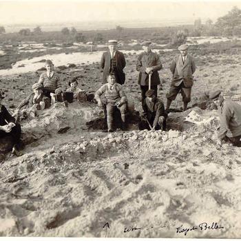Nieuw Reemst; archeologische opgraving