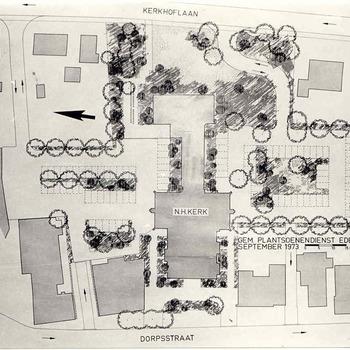 Bennekom  - ontwerp parkeerterrein