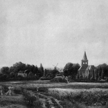 Panorama van Ede rond 1900