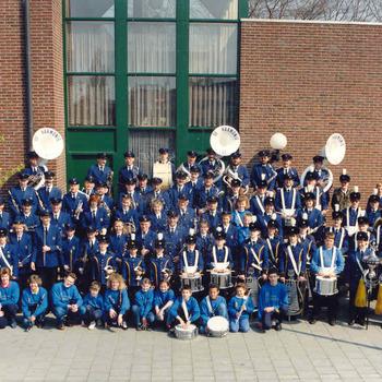 Gehele muziekvereniging De Harmonie