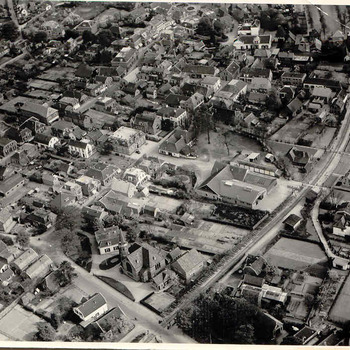 Luchtfoto Gemeentehuis
