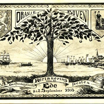 Herinneringskaart 1913