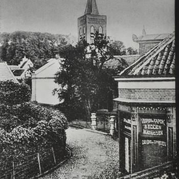 Torenstraat Ede, anno 1896
