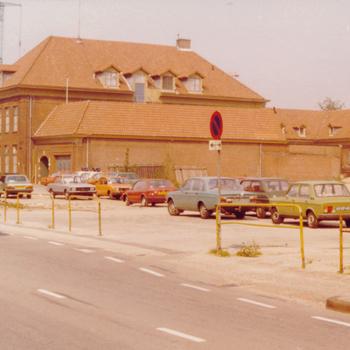 Ede, Achterkant oude politiebureau
