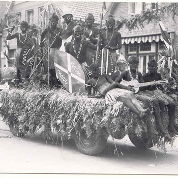 Bevrijdingsoptocht Ede 1945