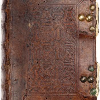 """Gebedenboek """"Psalterium en Breviarium voor het bisdom Toul"""" handschrift op perkament, begin 15e eeuw"""