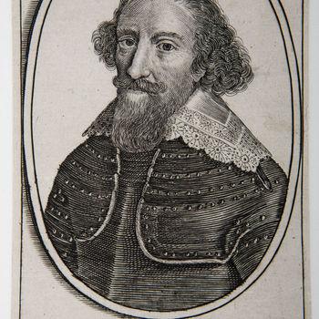 """Portret """"Henricus Comes. a Monte Etc."""" op papier"""