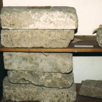 """Baksteen """"Fragment van een baksteen"""" steen"""