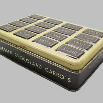 Chocoladetrommel uit 1930