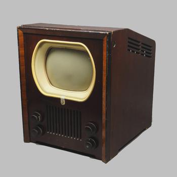 Philips televisie type TX400U uit 1949