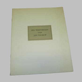 Reproductietekeningen van kunstschilder Jan Toorop (1858-1928)