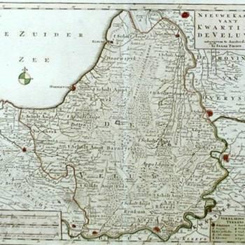 kaart van 't Kwartier(2)