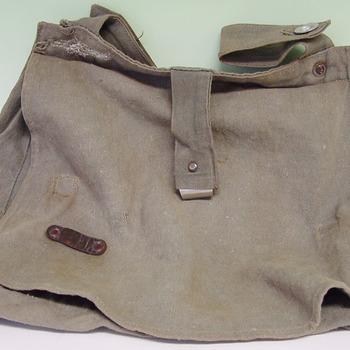 Tas van textiel, Duits uniform ca. 1939