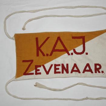 Vaantje 'Katholieke Arbeiders Jeugd Zevenaar' circa 1950