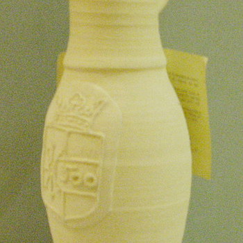 Jacobakannetje van keramiek door L. Goldewijk Zevenaar circa 1987