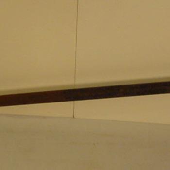 Boor van metaal en hout