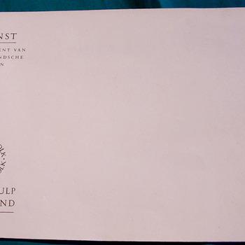 Envelop van papier van Winterhulp Nederland 1940-1945