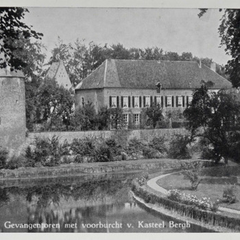 Ansichtkaart van kasteel Huis Bergh in 's-Heerenberg ca. 1920