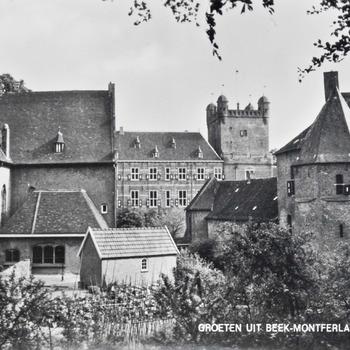 Ansichtkaart van Huis Bergh in 's-Heerenberg ca. 1950