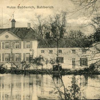 Ansichtkaart van Huis Babberich of Kasteel Halsaf in Babberich ca.  1920