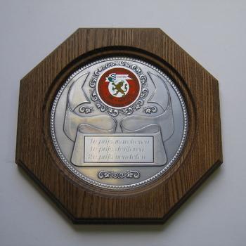 Herinneringsbord van Federatief Concours en Koningschieten Groessen 1993