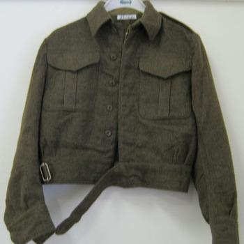 Militair uniform gedragen door Canadezen