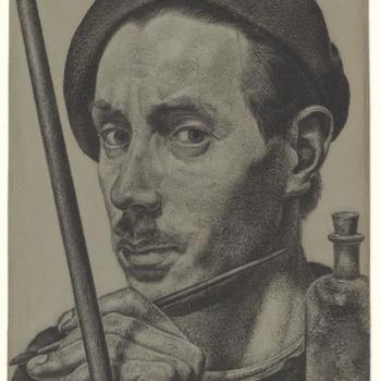Zelfportret, 1936