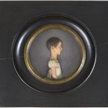 Wasportret van jonkvrouw Agatha Brantsen