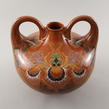 Vaas van aardewerk