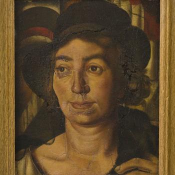 Portret van Nel Schilt