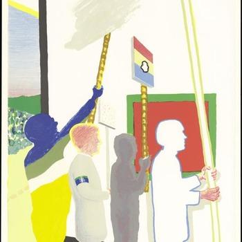 De schilderijenoptocht