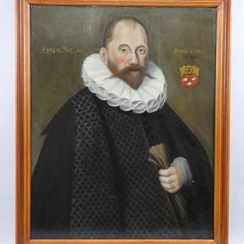 Portret van Johan van Dans Dirkszn. (1544-1617)