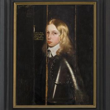 Portret van Paul van Arnhem tot Nederhagen en Hulshorst (1636-1673)
