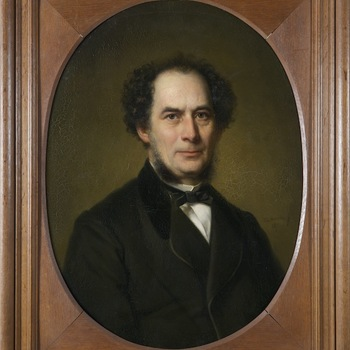 Portret van Corstianus Hendrikus de Swart (Arnhem 1818 - Arnhem 1897)