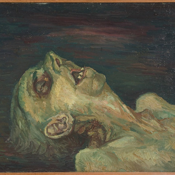 Dodenportret: dode man VIII