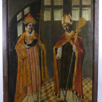 De Heiligen Cornelius van Rome en de Heilige Hubertus
