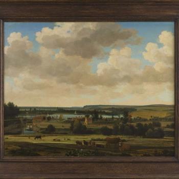 Panorama buiten de Rijnpoort te Arnhem