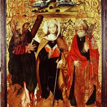 De Heiligen Andreas, Catharina en Petrus
