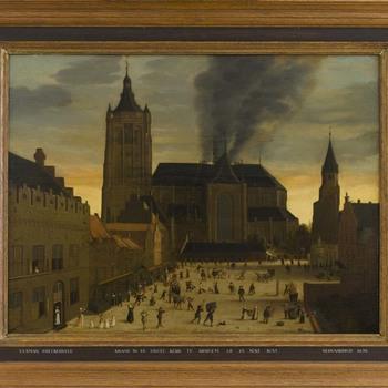 Brand in de Eusebiuskerk of Grote Kerk te Arnhem op 25 juni 1633