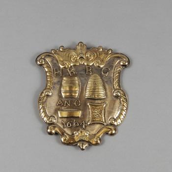 Gildeschild van het Koekebakkersgilde te Arnhem, Gildeschild van het Koekenbakkersgilde te Arnhem