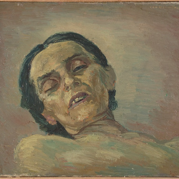 Dodenportret: dode vrouw I