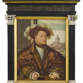 Portret van Karel van Egmond (1467-1538), Hertog van Gelre, Graaf van Zutphen