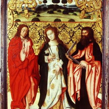 Rechter altaarluik het 'Bartholomeusaltaar'