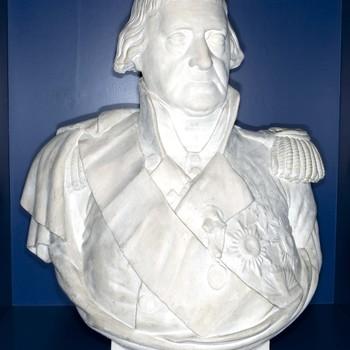 Buste, voorstellende Admiraal  J.H. van Kinsbergen